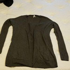 Charcoal grey Mudd cardigan